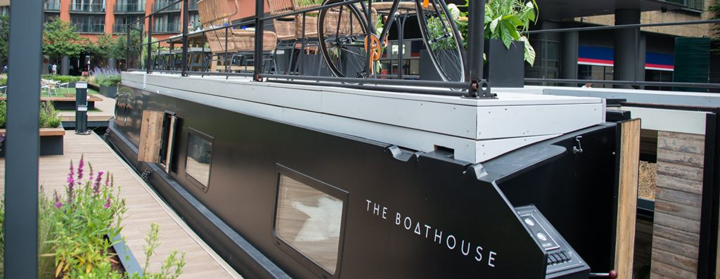 Outside The Boathouse London
